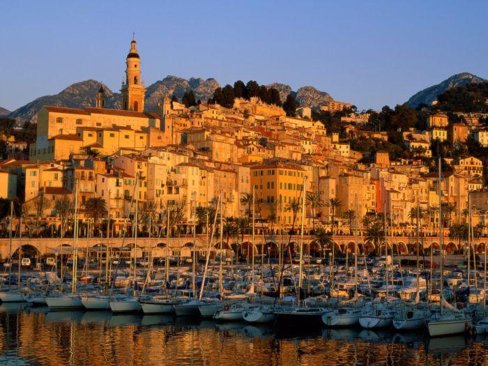 Visiter menton lafage commerces nice sp cialiste de la - Ville bord de mer mediterranee ...